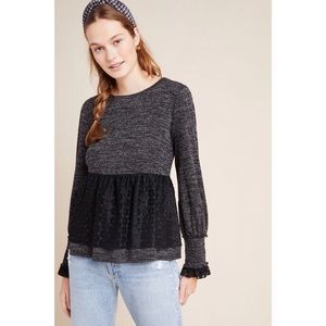 Anthropologie Amirah Lace Top